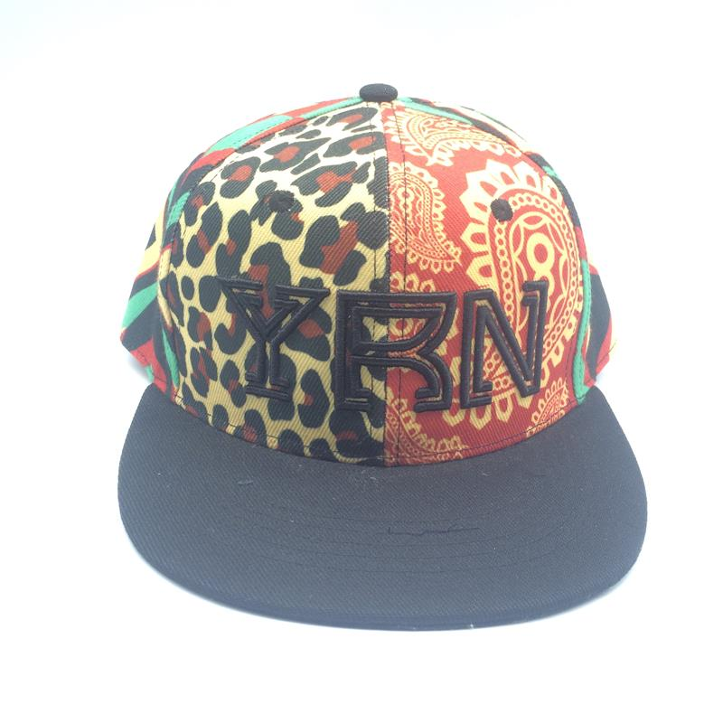 sublimated snapback cap with 3D embroidery logo