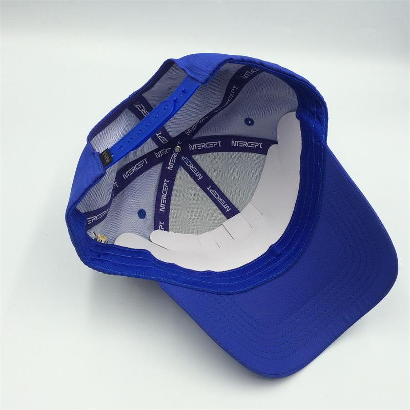 sublimated 6 panel ripstop baseball cap