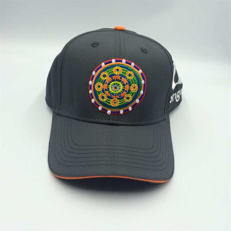 6 panel sublimated baseball cap with 3D embroidery logo